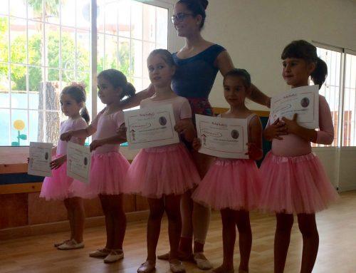 La escuela de ballet cierra el curso 2016 / 2117