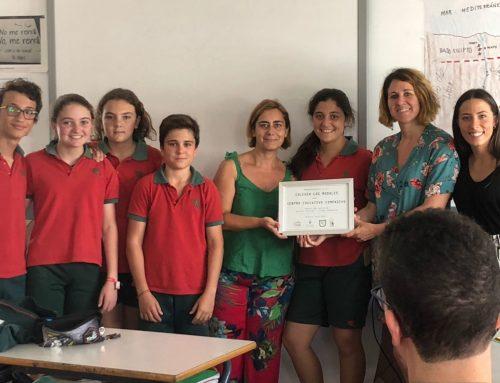 RECONOCIMIENTO COLEGIO LOS ROSALES, CENTRO EDUCATIVO COMPASIVO. SEVILLA.